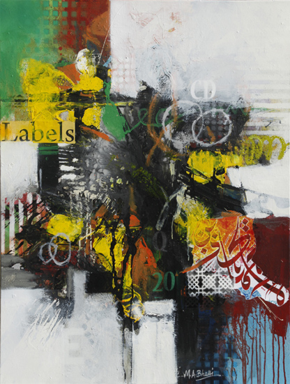 Roots to Revolution 03 | Mixed Media on Canvas | 48 x 36